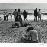Couples on Beach, Jones, Beach, New York, c1975