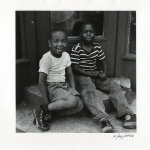 Two Boys with Sneakers, Bedford-Stuyvesant, 1950