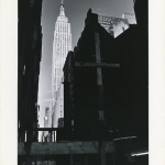 Empire State Building with Cross, NYC, 1974