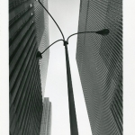 Lamppost with Buildings, NYC, 1974
