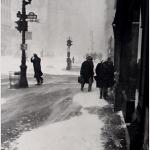 Snowstorm, NYC, 1947