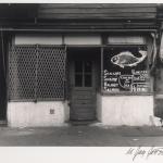 Fish Market Storefront, Blake Ave, 1951