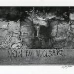 Non au Nucleaire Graffiti, Paris, France, 1979